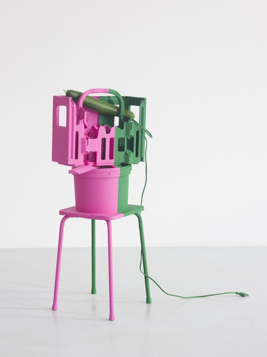 Abraham Cruzvillegas, Autokonßtrukschön #8, 2018. With Galerie Chantal Crousel