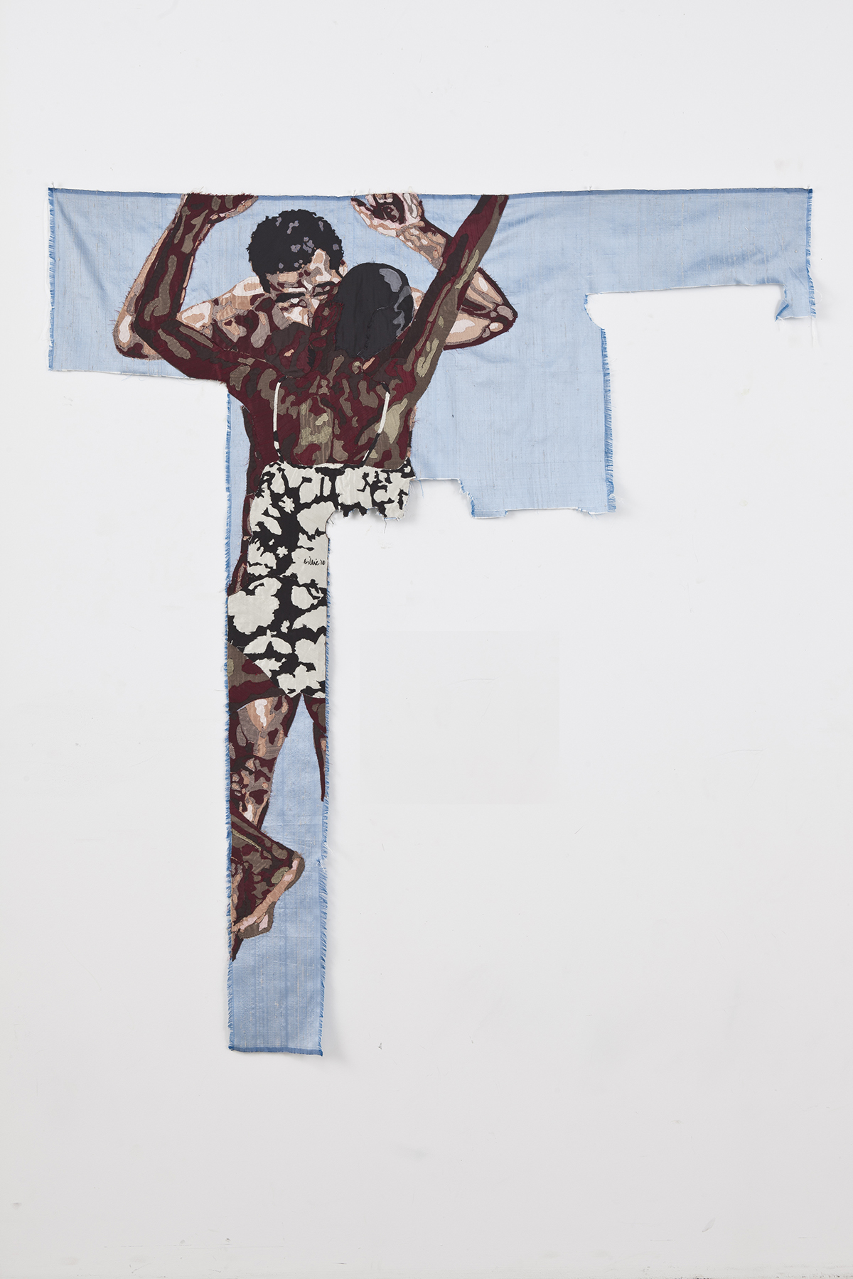Billie Zangewa Disarming mars, 2010