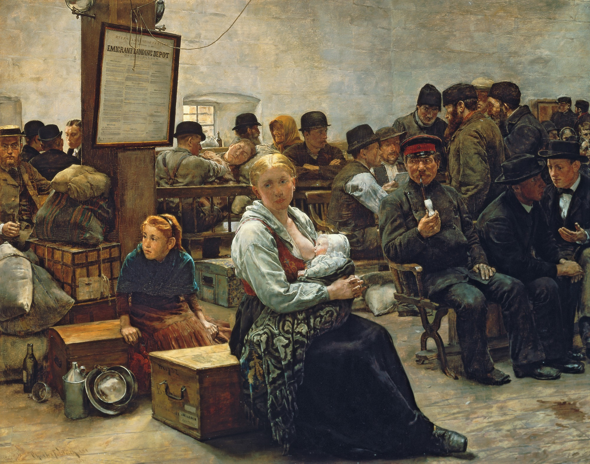 (oil on panel) by (1858-1908); 71.6x91.4 cm; Corcoran Gallery of Art, Washington D.C., USA; REPRODUCTION PERMISSION REQUIRED; American, out of copyright PLEASE NOTE: The Bridgeman Art Library works with the owner of this image to clear permission. If you wish to reproduce this image, please inform us so we can clear permission for you.