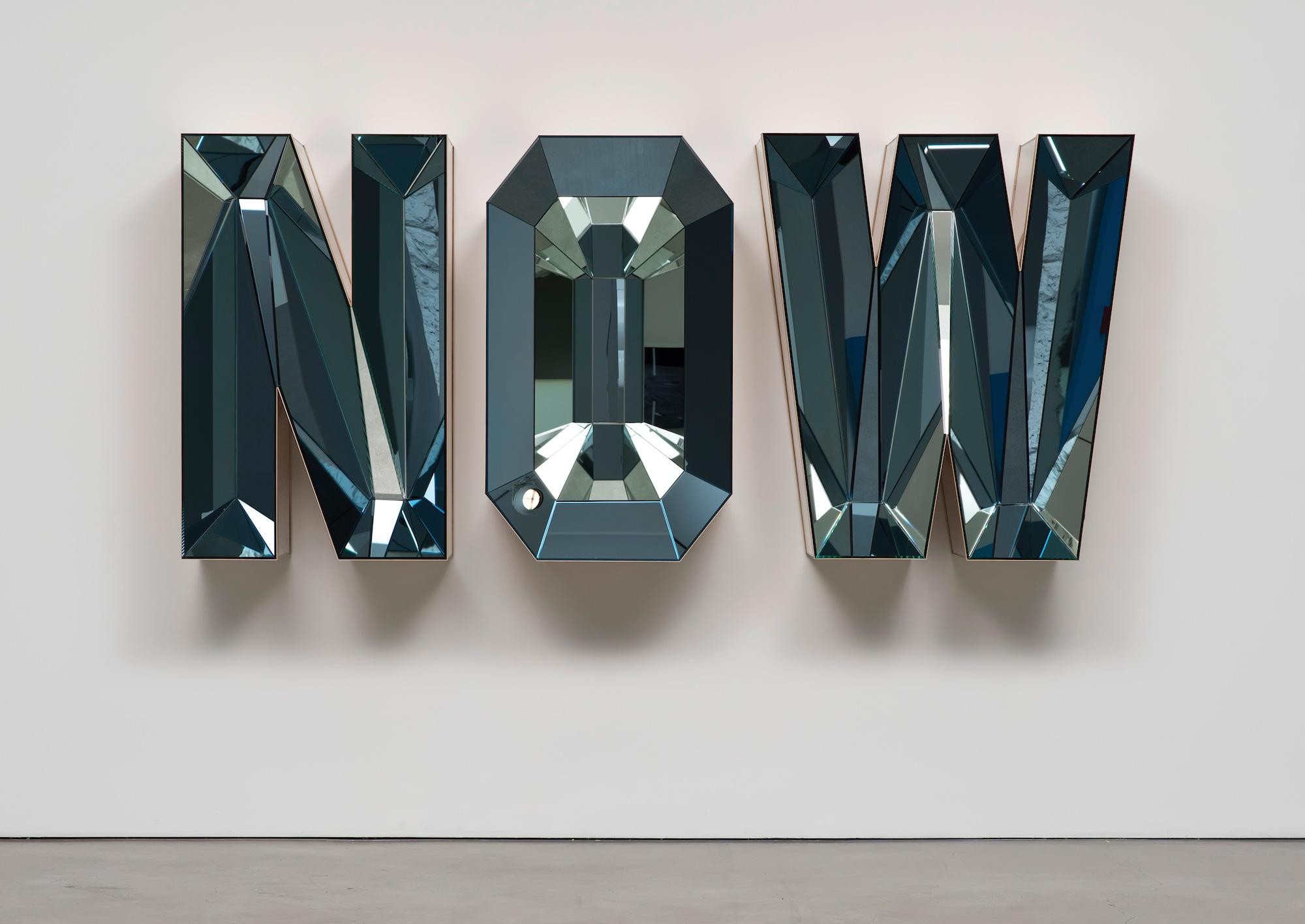 NOW (Blue Mirror), 2014 Doug Aitken