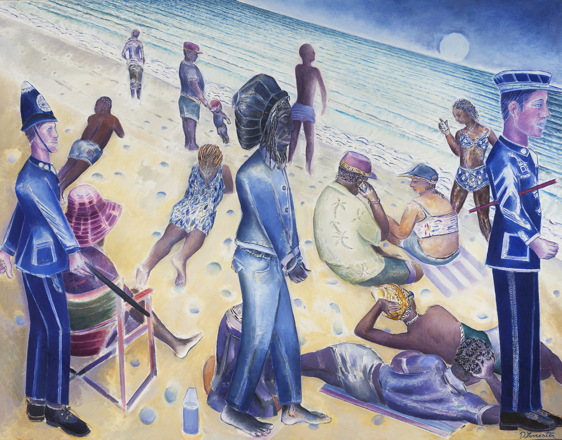 Denzil Forrester, From Trench Town to Porthtowan, 2016