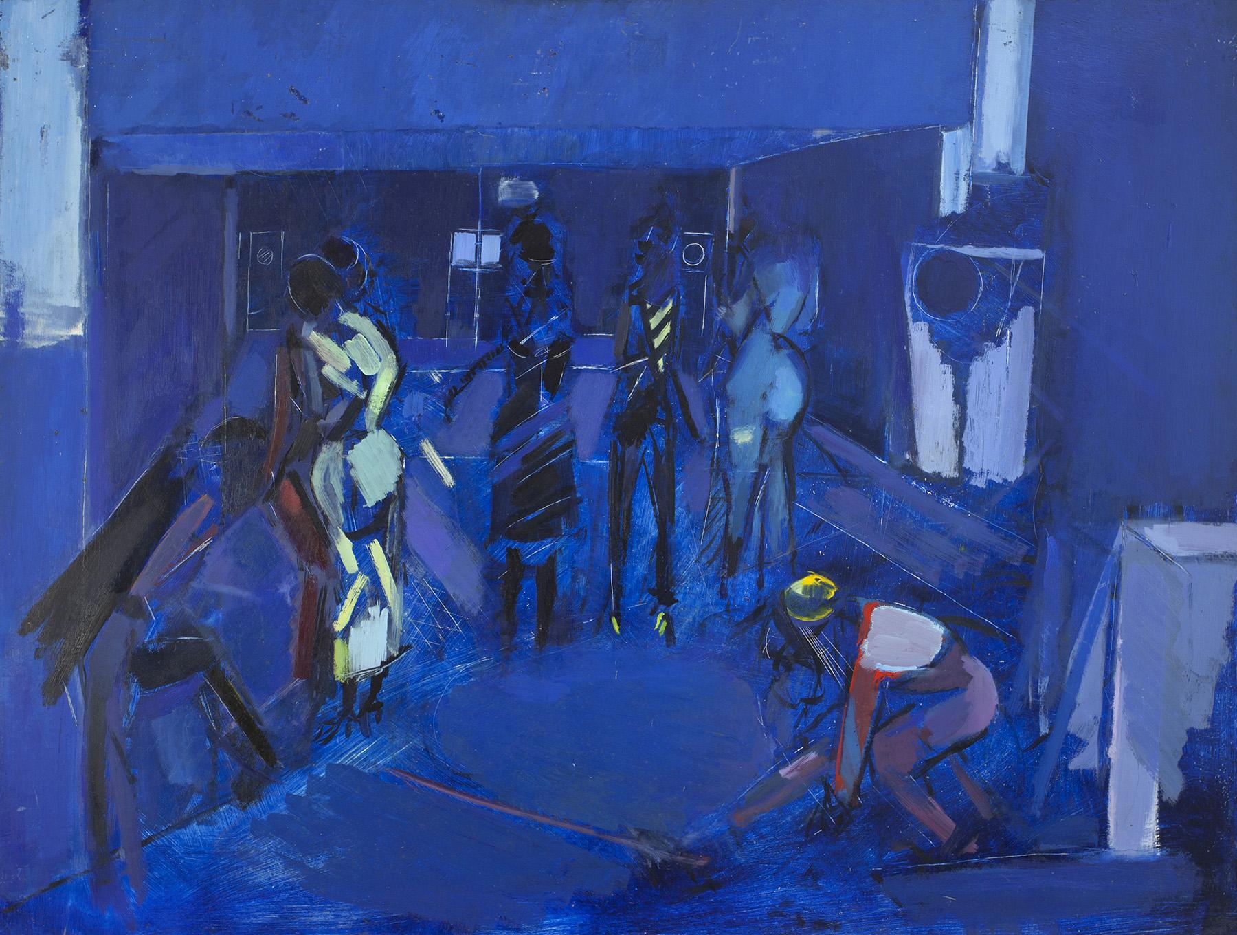 Denzil Forrester, Blues, 1978