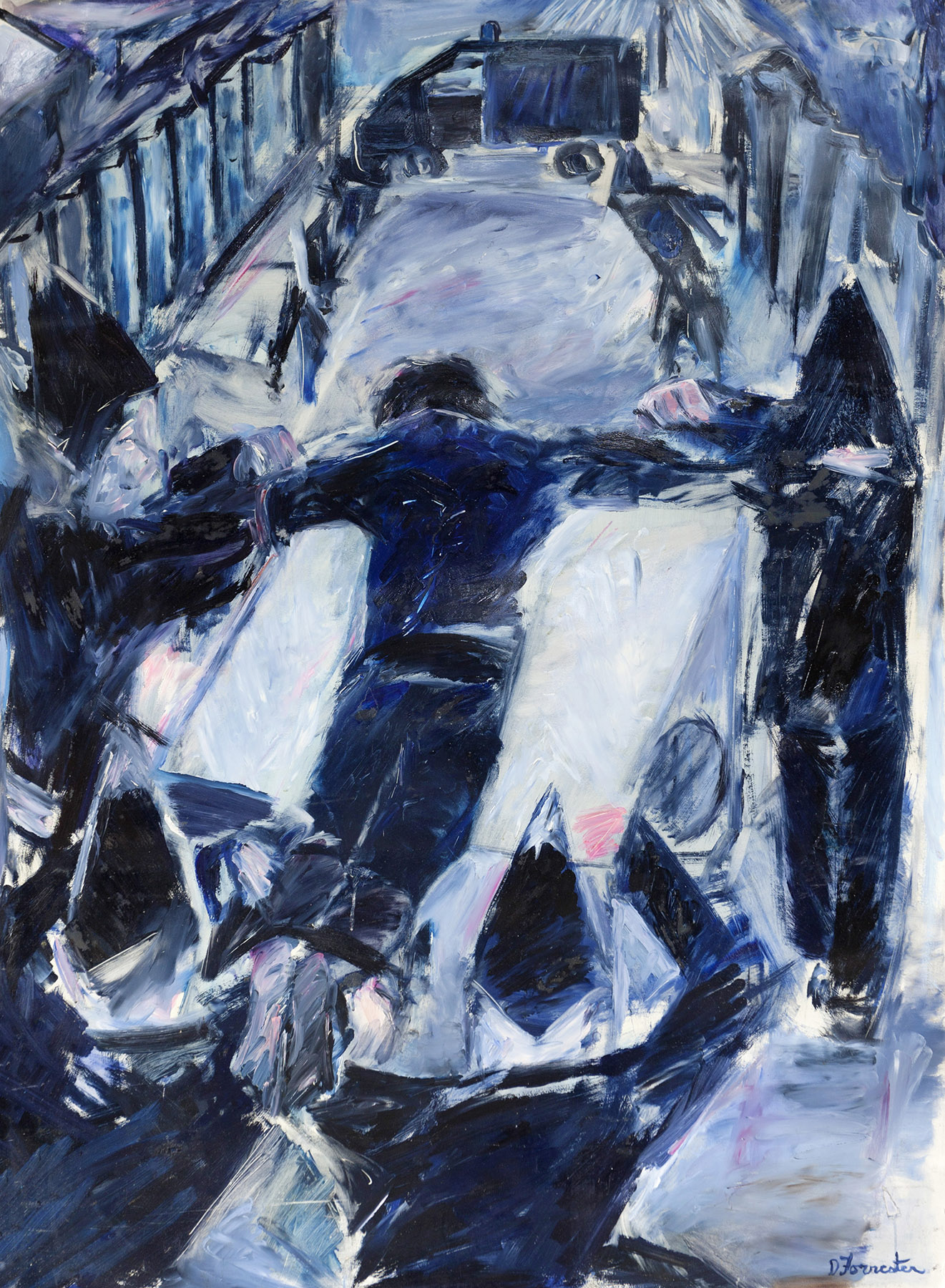 Denzil Forrester, Death Walk, 1983