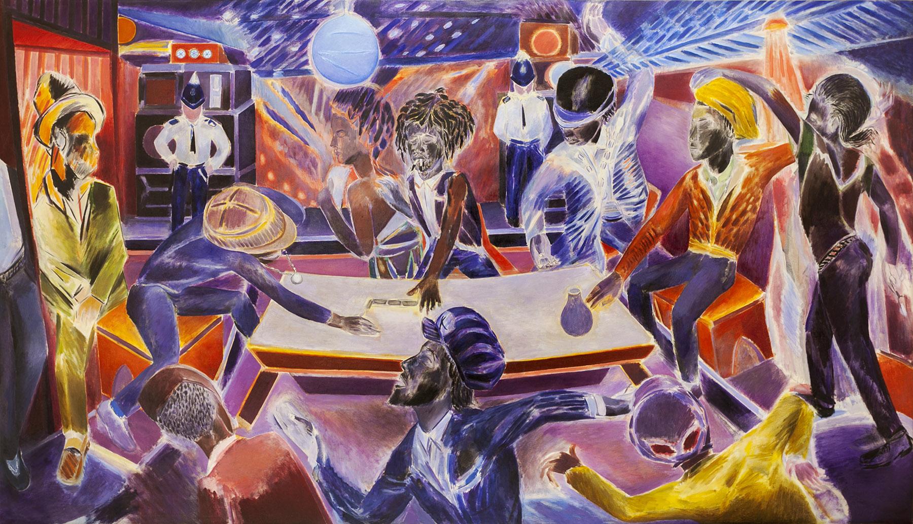 Denzil Forrester, Domino Hunters, 1985