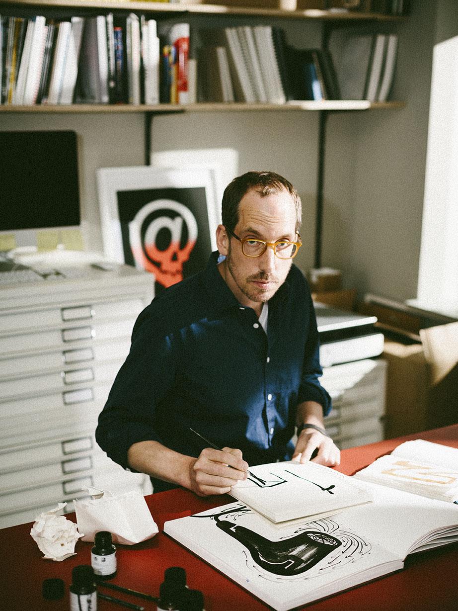 Christop Neimann, portrait by Gene Glover