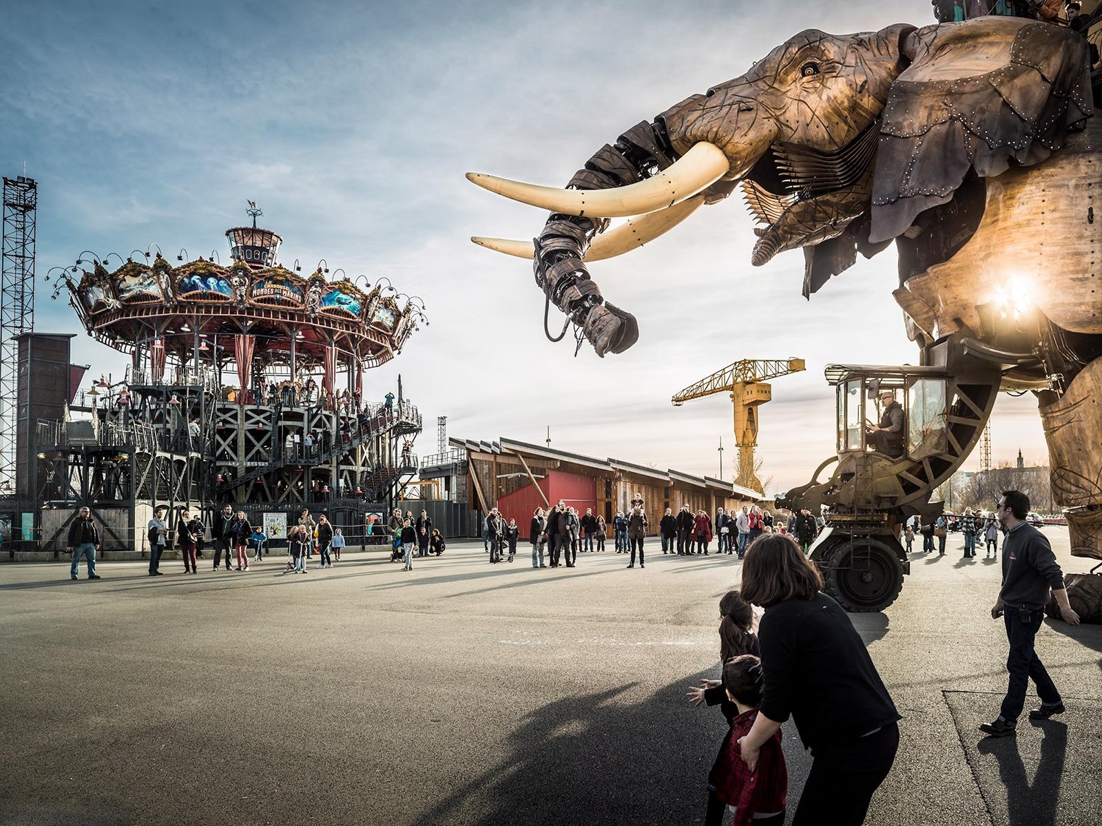 The Great Elephant at Les Machines de lÃŽle