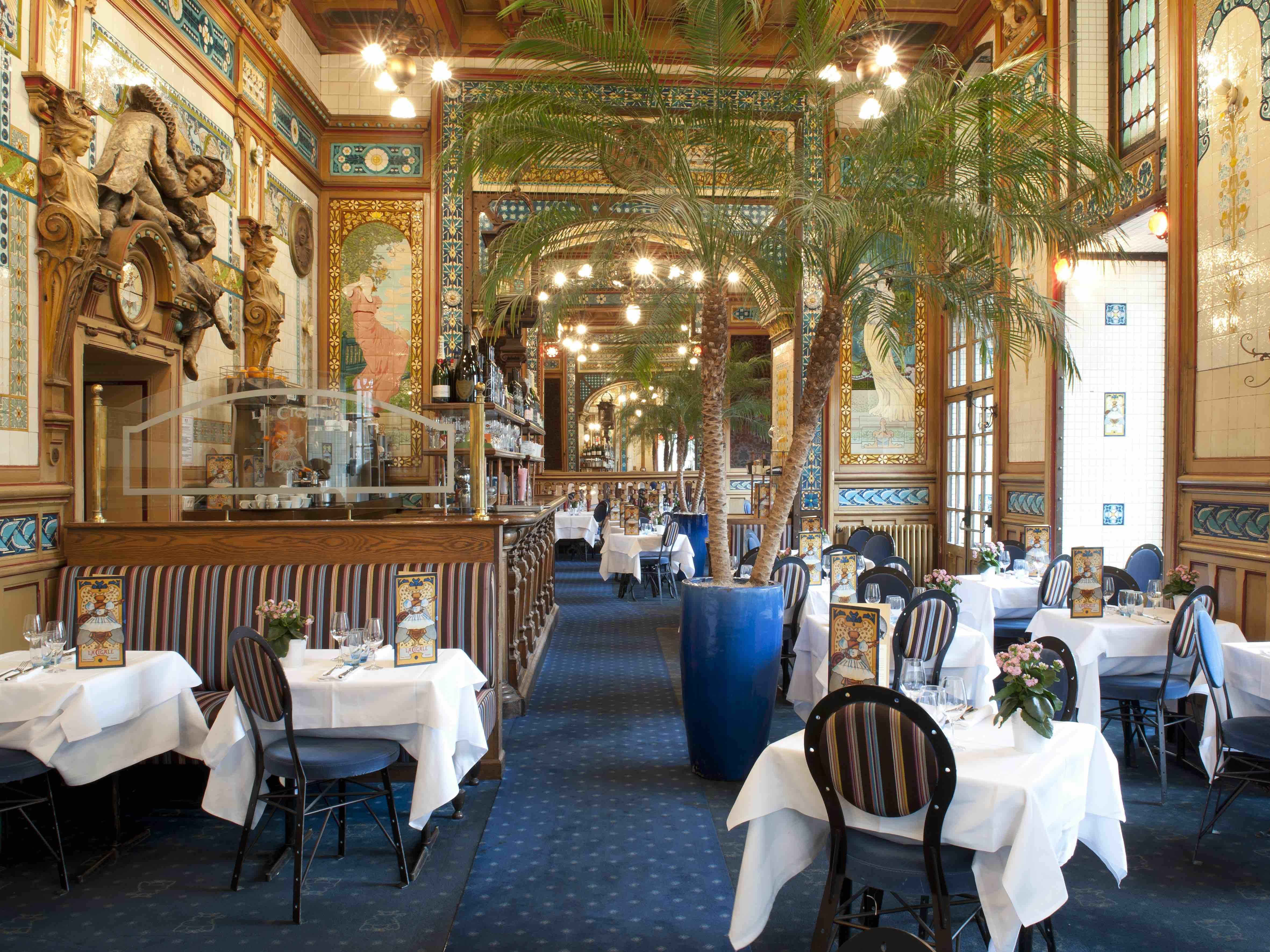 Restaurant La Cigale, Nantes © Le gout et les couleurs/LVAN