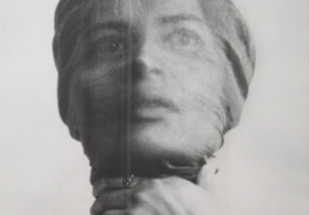 Wanda Czelkowska Self Portrait, Early 1970s B&W photograph Thaddeus Ropac London Feminist Artist