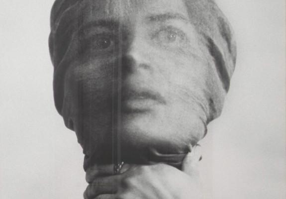 Wanda Czelkowska Self Portrait, Early 1970s B&W photograph Thaddeus Ropac London Feminist Artist