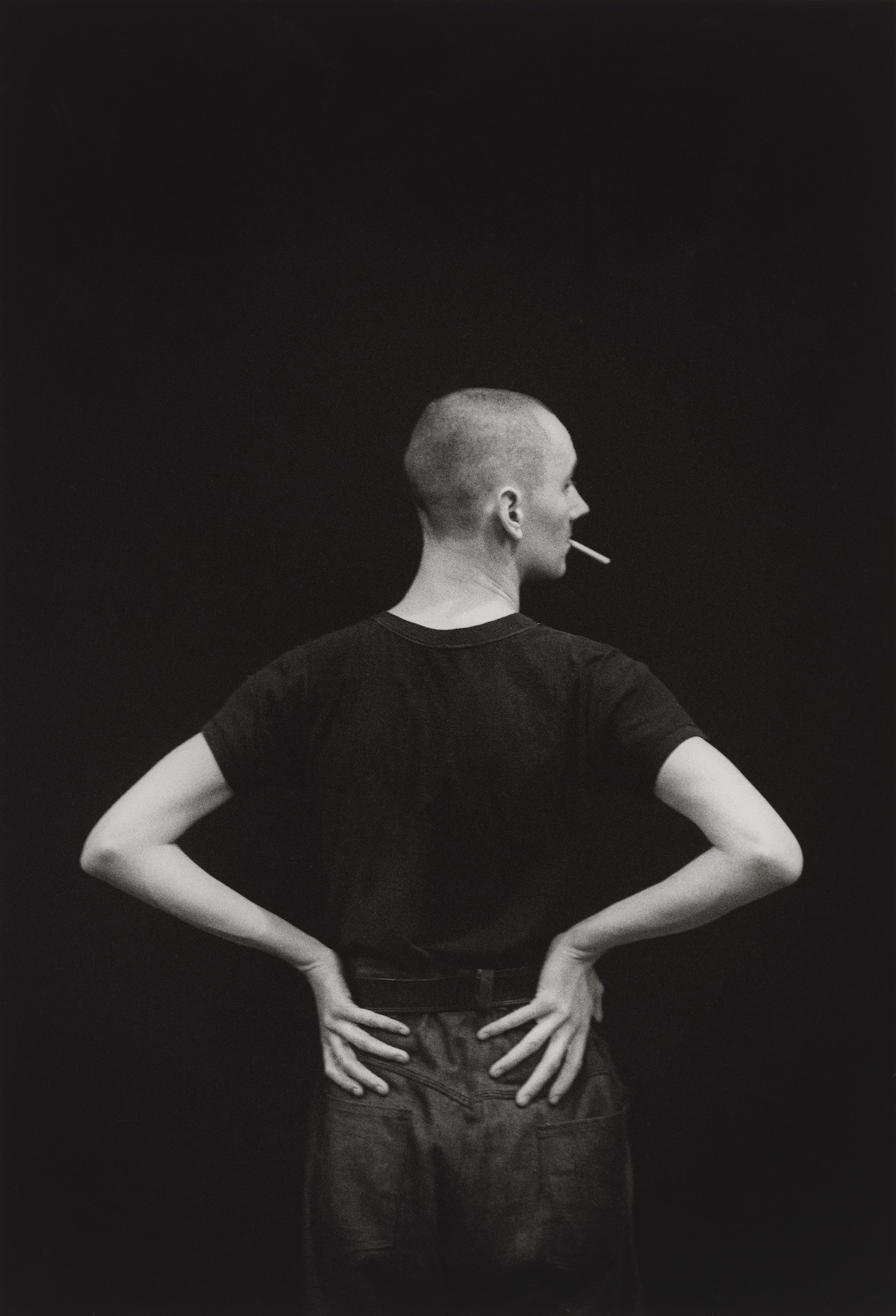 Cerith Wyn Evans, circa 1984 David Gwinnutt National Portrait Gallery Before We Were Men Gay Queer London