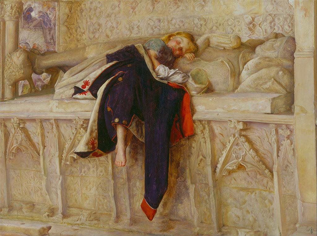 John Everett Millas, L'Enfant du Regiment, 1854-5