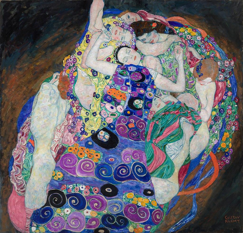 Gustav Klimt, The Virgin, 1913