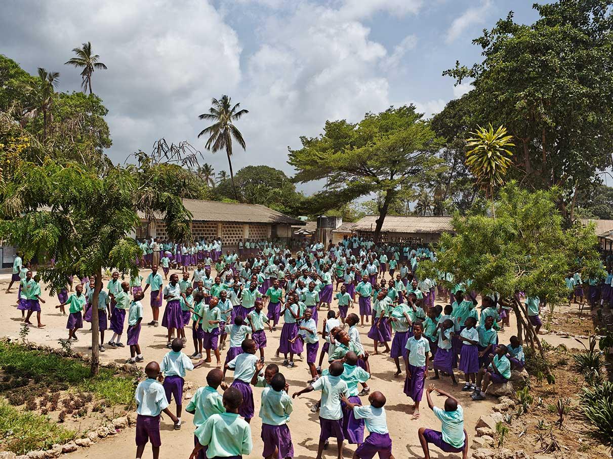 James Mollison, Series Playground, Freetown Community Primary School, Mombasa, Kenya, 2011, © James Mollison