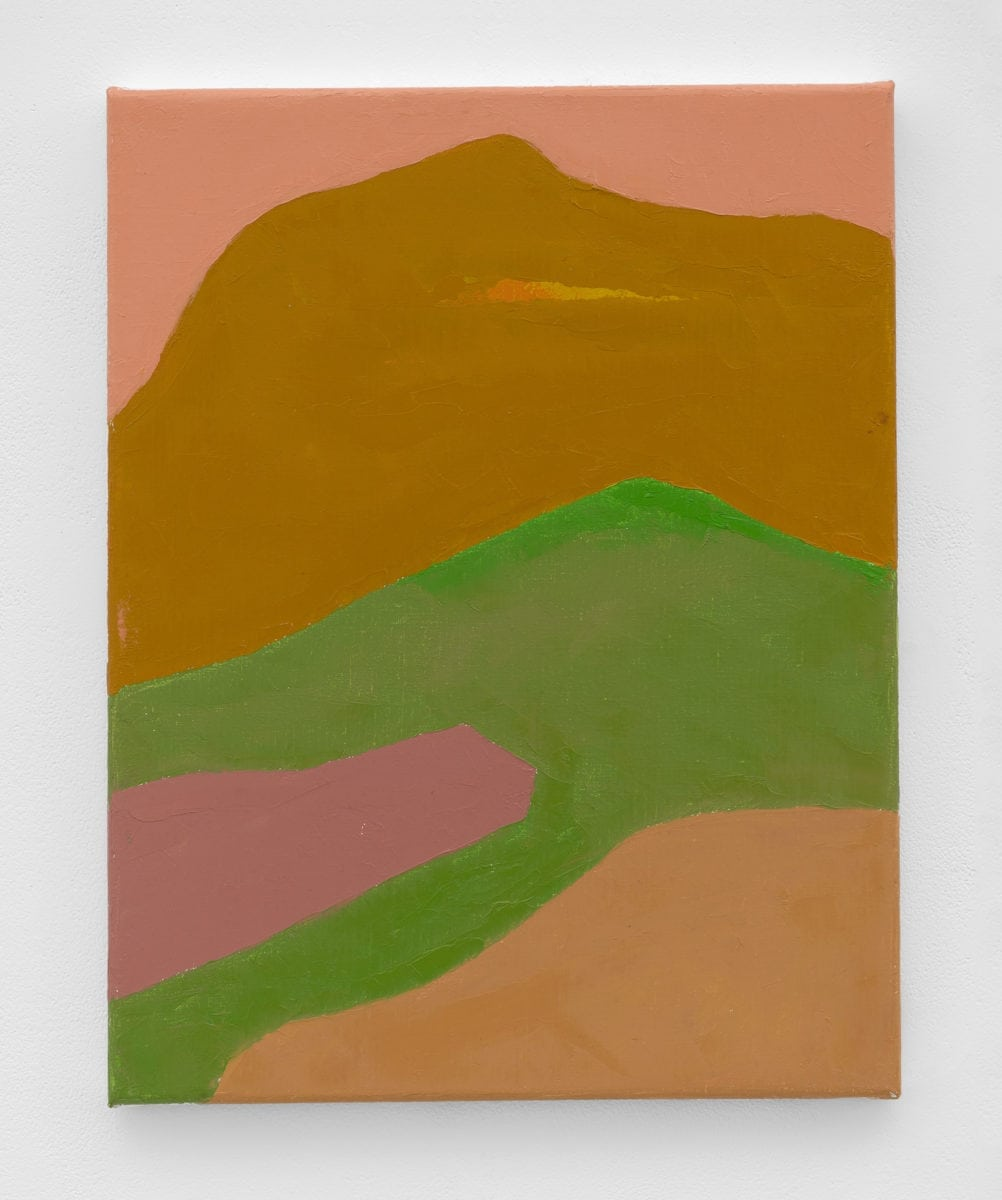 Etel Adnan, Untitled, 2018