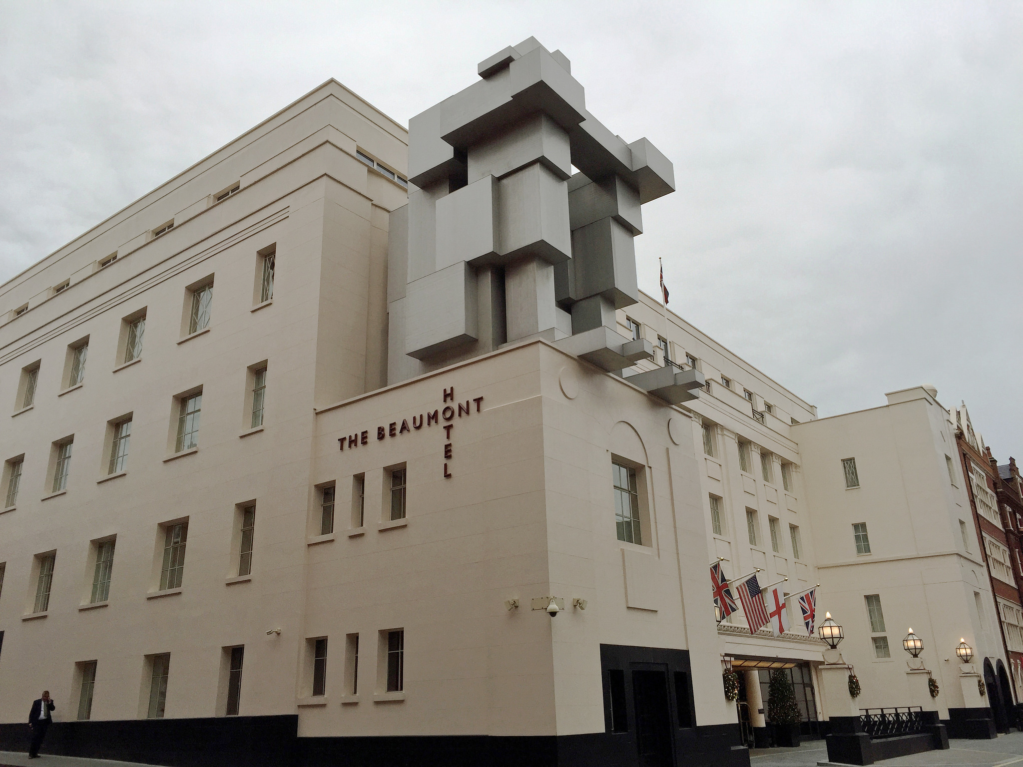 Antony Gormley, ROOM, Beaumont Hotel