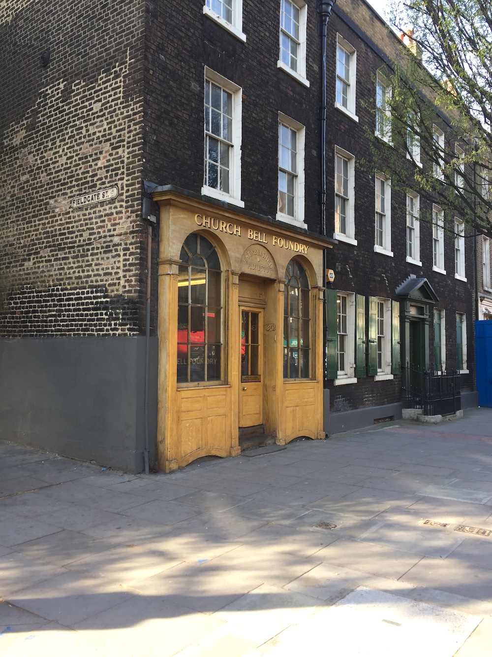 Whitechapel Bell Foundry. Image courtesy 31/44