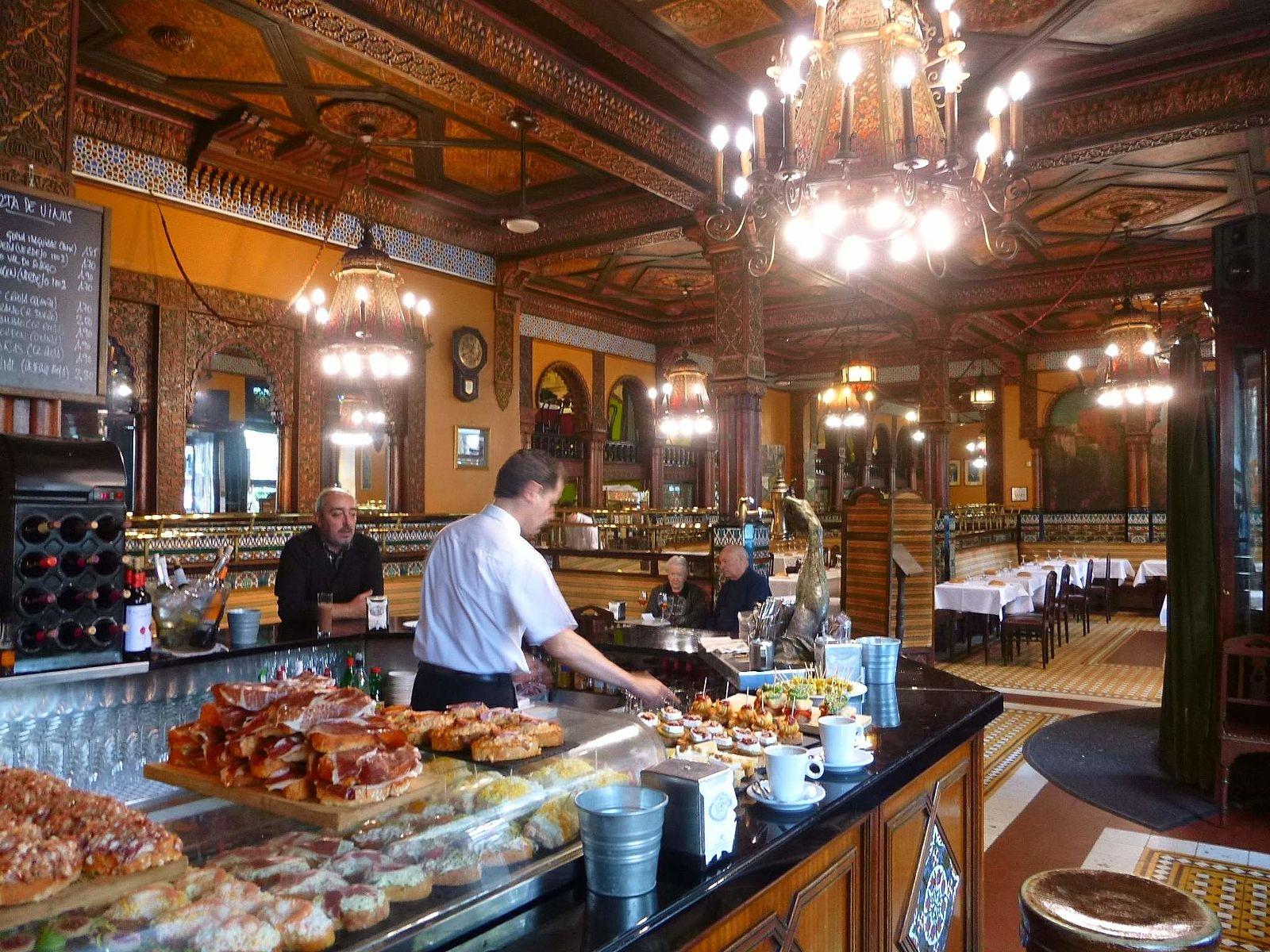 Café Iruña, Bilbao