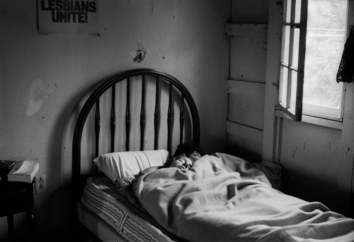 Sleepers, Limerick,  Pennsylvania, 1970. Collection  of  the  Leslie-Lohman  Museum.