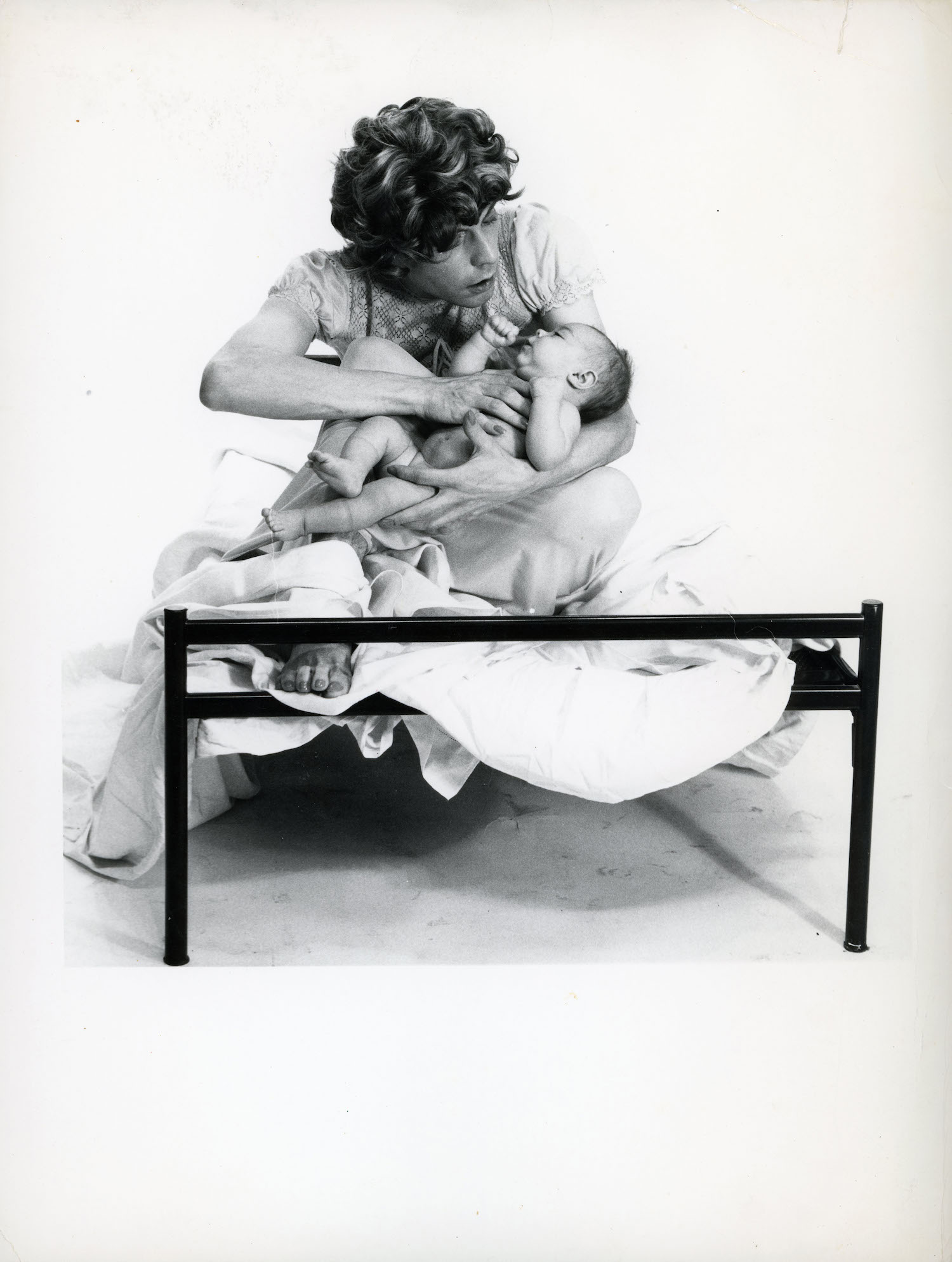 Michel Journiac, 24 Heures dans la vie d'une Femme / Phantasmes La Maternite, 1974. Courtesy Christophe Gaillard, Paris