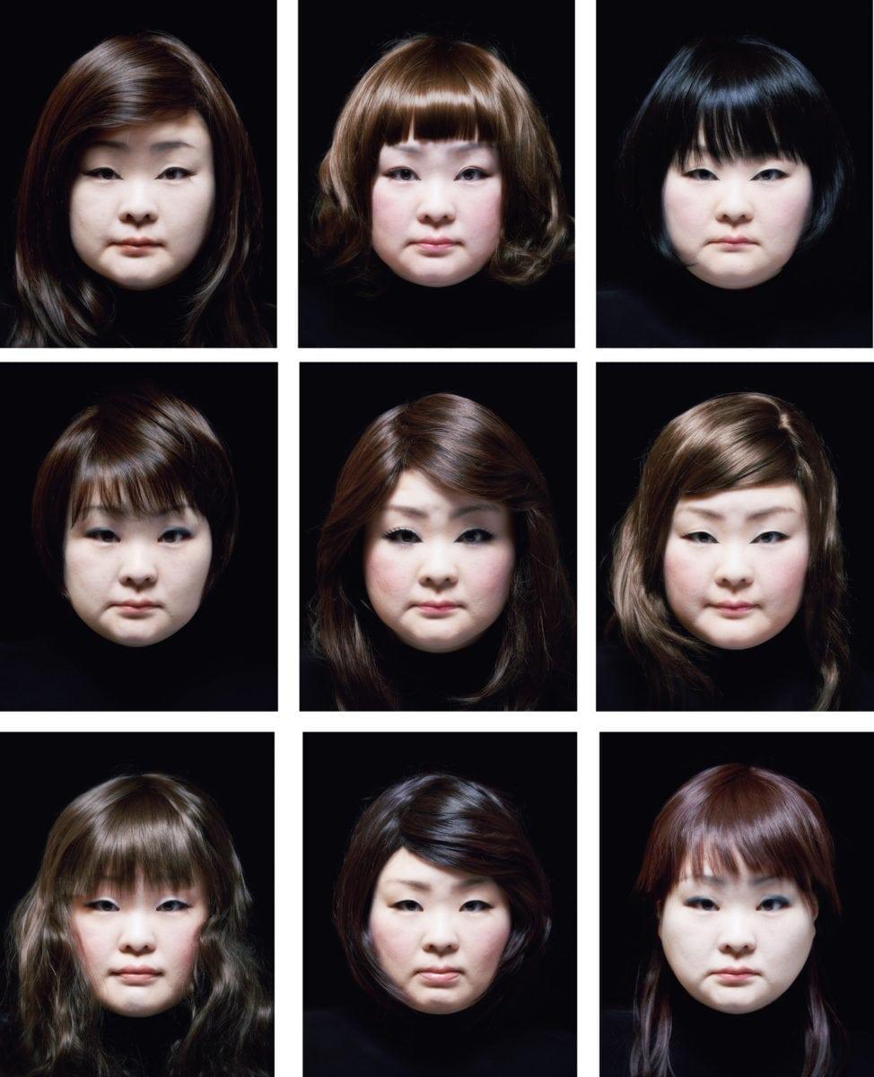 Tomoko Sawada, Facial Signature, 2015