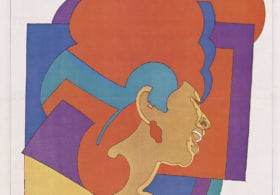 Aretha Franklin by Milton Glaser, colour photolithographic poster, 1968. Courtesy National Portrait Gallery, Smithsonian Institution © Milton Glaser