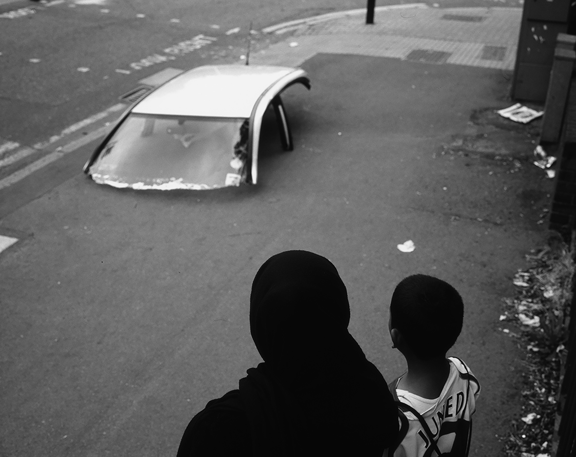 Robin Maddock, Hackney, London, 2004