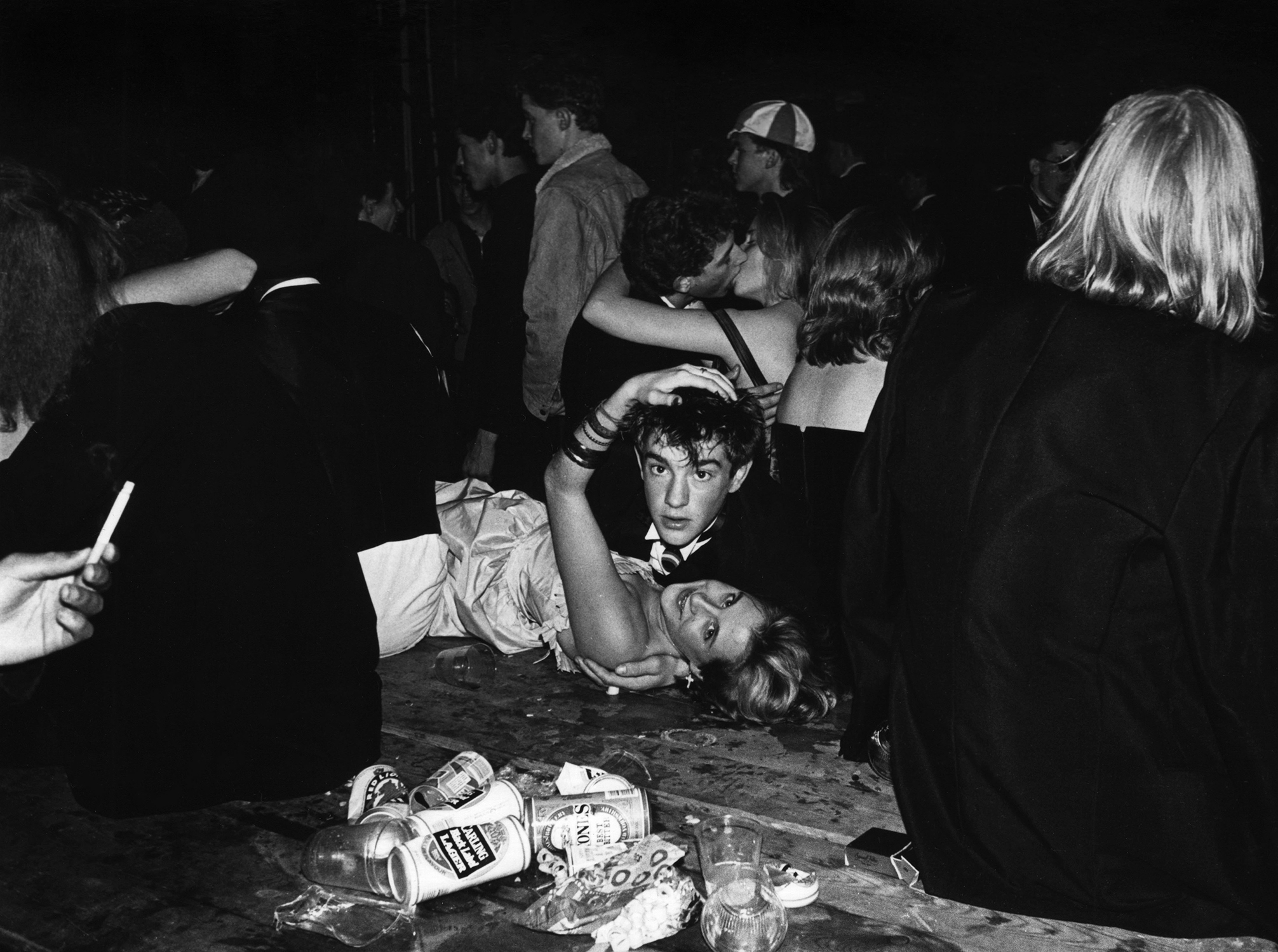 Halloween Ball 1987 © Dafydd Jones, from the book The Last Hurrah published by STANLEY/BARKER