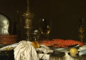 Willem Claesz. Heda, Still Life with a Lobster, 1650-9