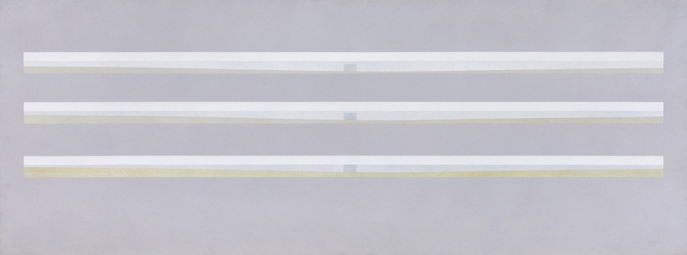 Coast I, 1973. Oil on canvas