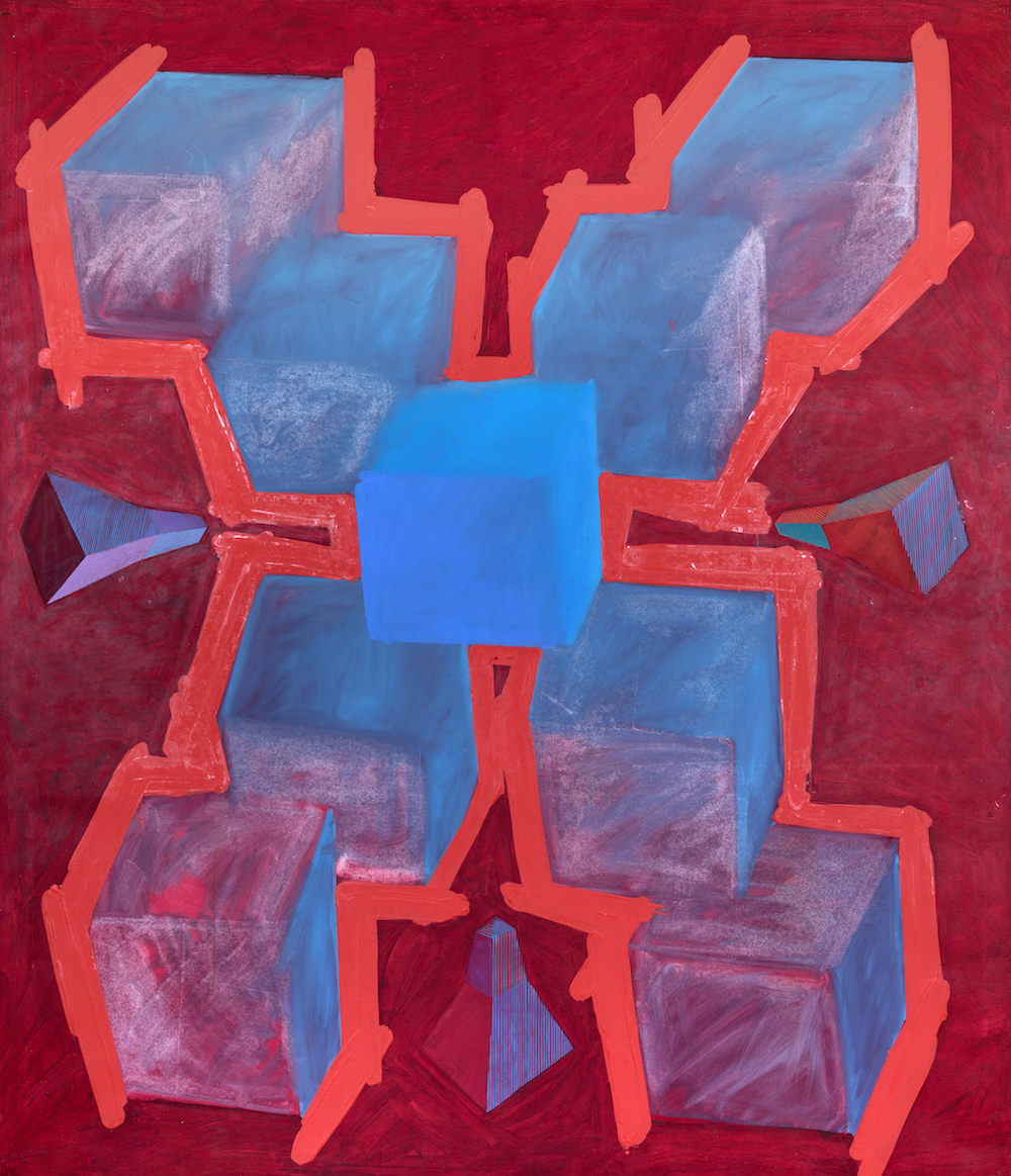 Crossover Sensitive Parts, 1991. Oil on Canvas