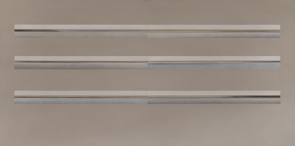 Six Horizons I, 1972. Oil on canvas