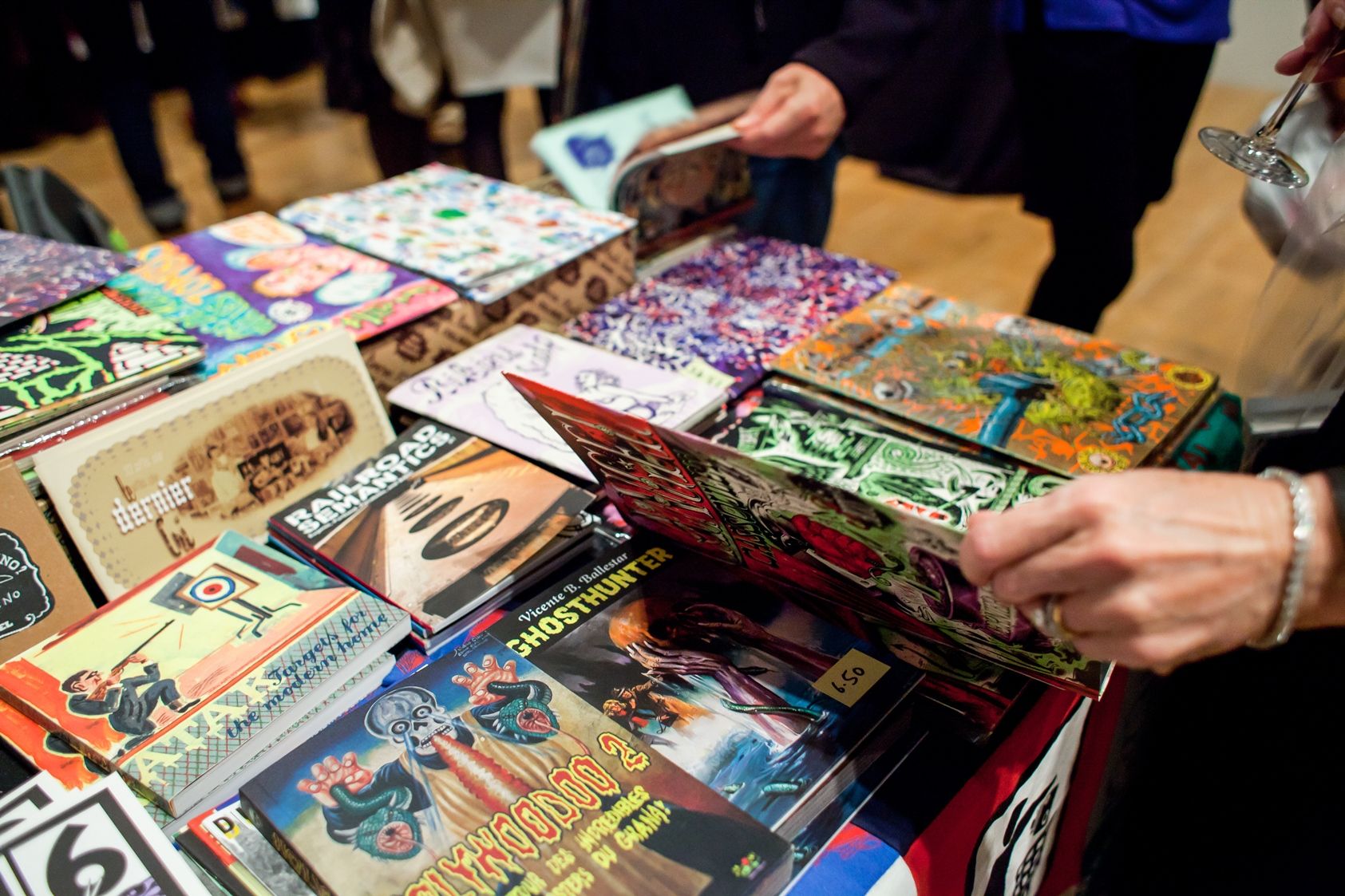 The London Art Book Fair. Courtesy Whitechapel Gallery Photo Dan Weill