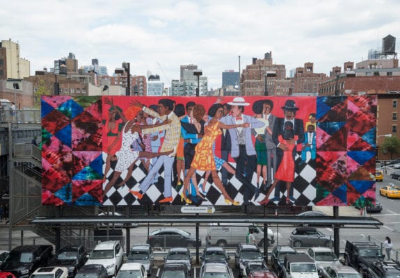 Faith Ringgold, Groovin High, photo: Timothy Schenck, courtesy: Friends of the High Line