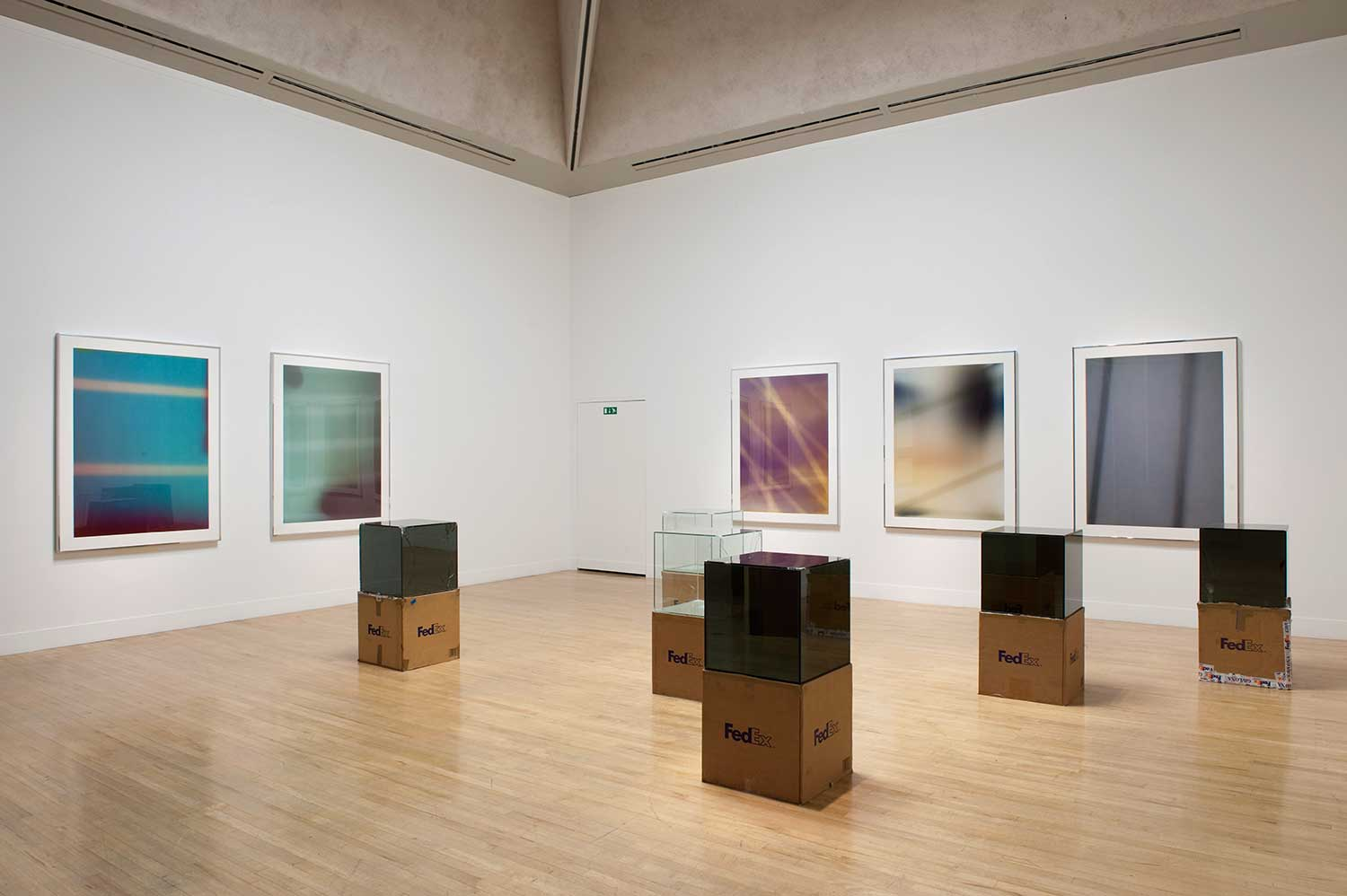 Installation view of Altermodern: 2009 Tate Triennial Exhibition, 2009, Tate Britain, London. Photo: Sam Drake, Tate Photography, courtesy of the artist; Regen Projects, Los Angeles; and Thomas Dane Gallery, London