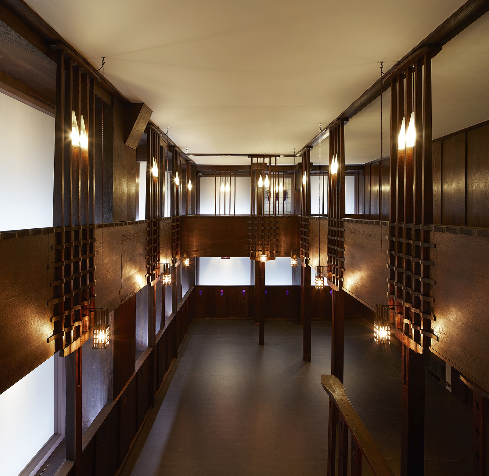 Charles Rennie Mackintosh's Oak Room restored, conserved and reconstructed through a partnership between V&A Dundee, Glasgow Museums and Dundee City Council.