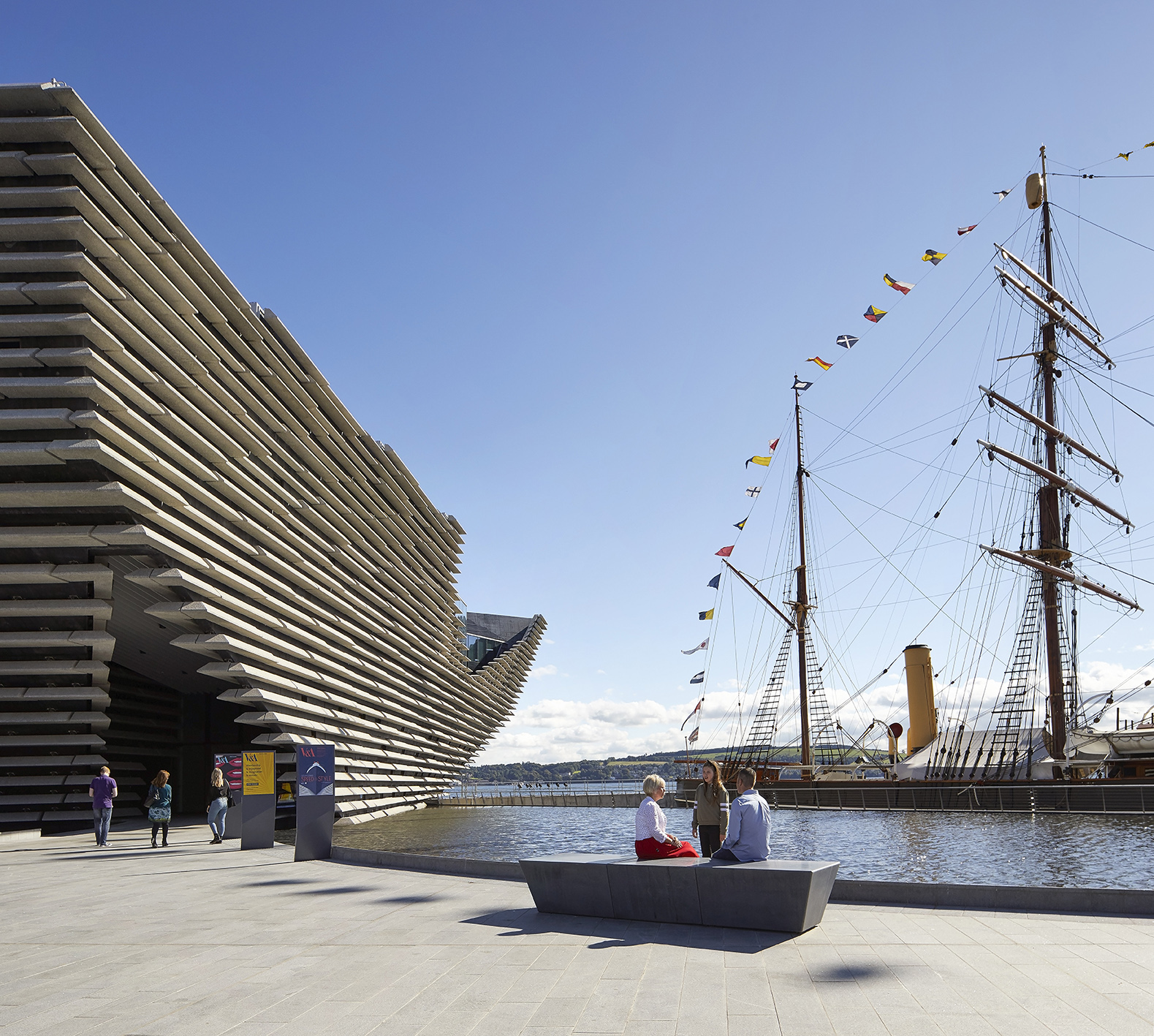 V&A Dundee Scotland. © Hufton+Crow