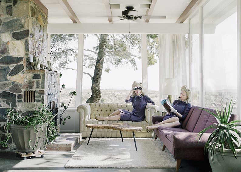 Anja Niemi, Darlene and me, The Desert House. Courtesy Photo 12 Galerie
