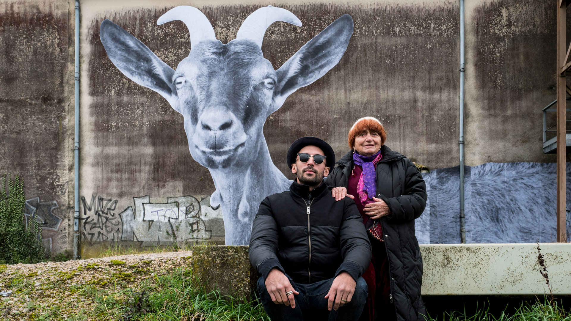 Faces Places, 2018. Courtesy Curzon Artificial Eye Agnes Varda JR artist documentary France