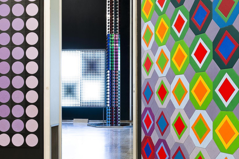 Fondation Vasarely op art
