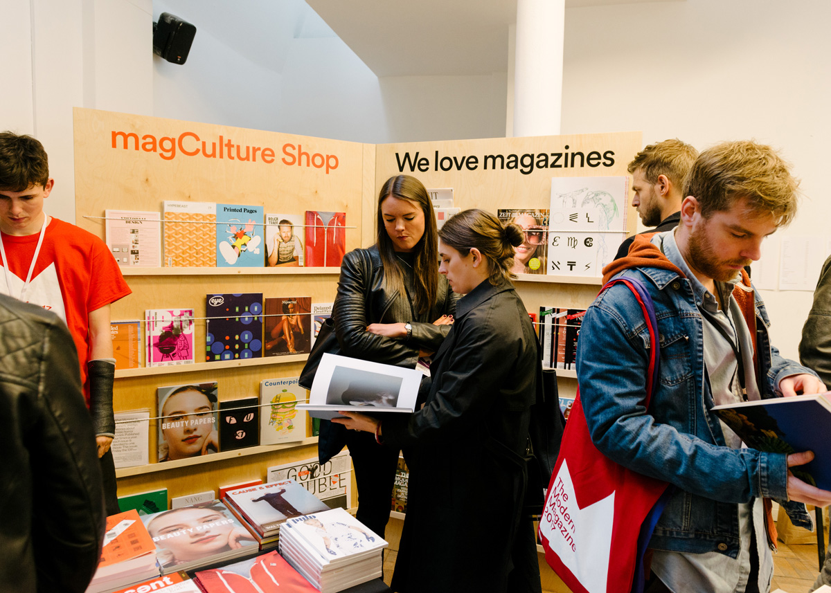 MagCulture, who will be hosting a specially curated selection of eighteen independent magazines at London Art Book Fair 2018 © MagCulture