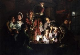 Joseph Wright of Derby, An Experiment on a Bird in the Air Pump, 1768