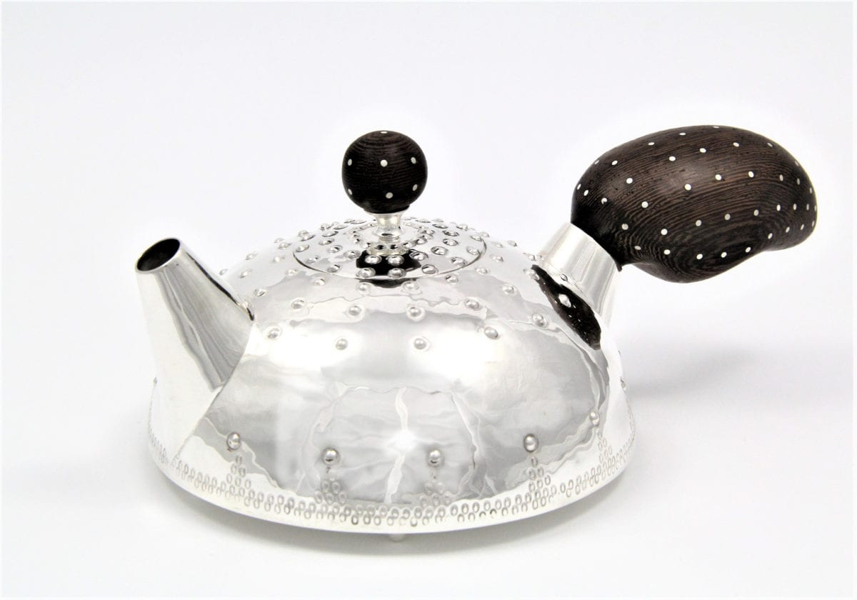 Yeon Jung, Breast Teapot with Studio 21 Fine Art