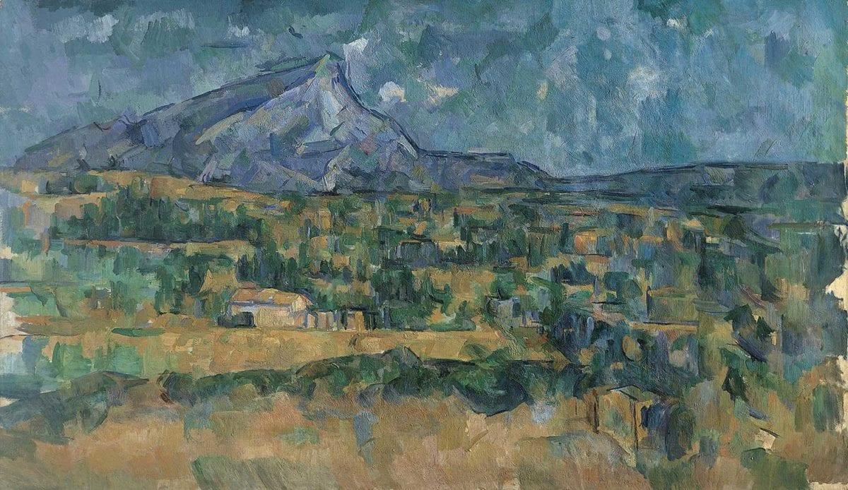 Cezanne, Mont Sainte-Victoire,c. 1902 - 1906. Courtesy The Metropolitan Museum of Art, New York.