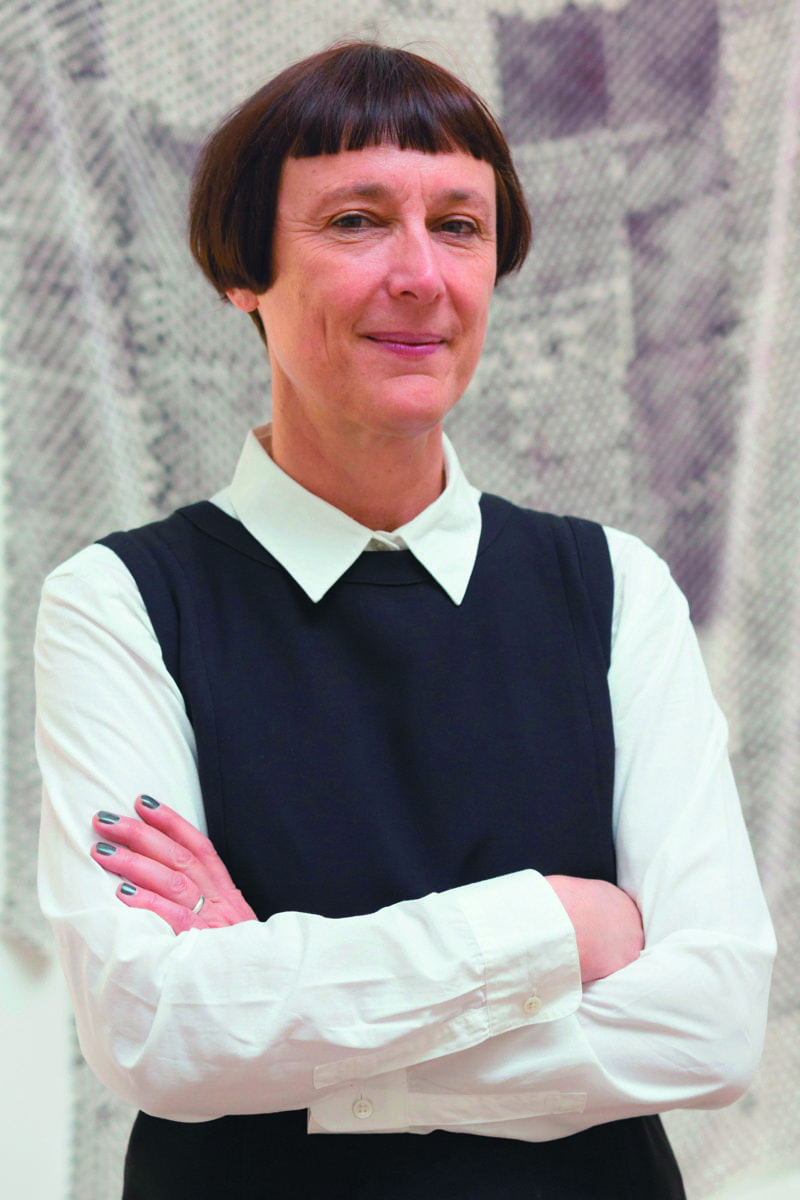 Sculptor Cornelia Parker RA, Royal Academy of Arts' annual Summer Exhibition in London