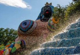 Niki de Saint Phalle Tarot Garden Tuscany Italy Sculpture Garden