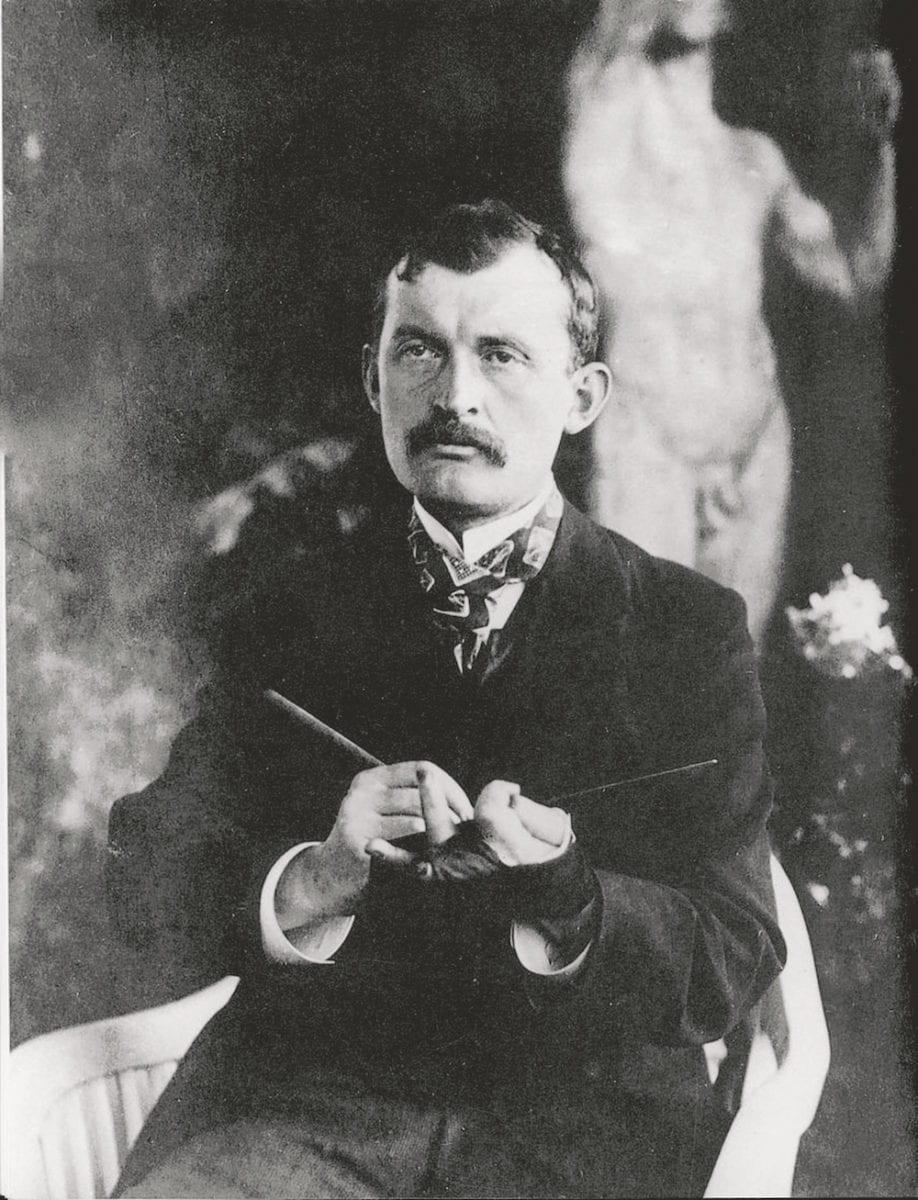 Edvard Munch, Norwegian artist.