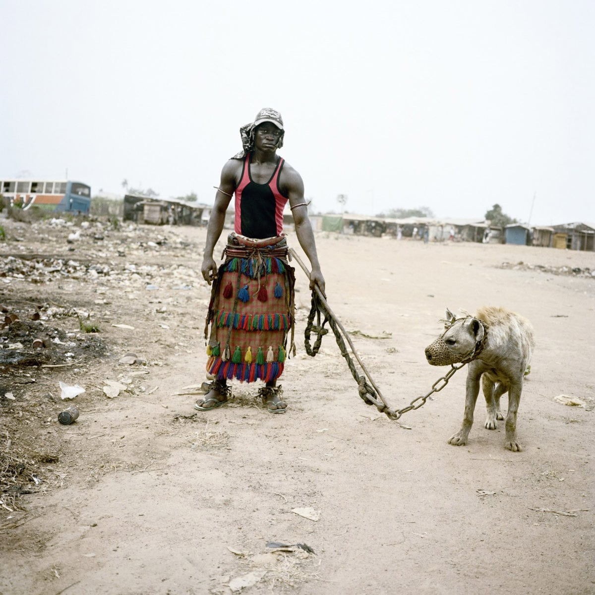 Pieter Hugo, Abdullahi Mohammed with Mainasara, Lagos, Nigeria, 2007 with Yossi Milo Gallery, New York