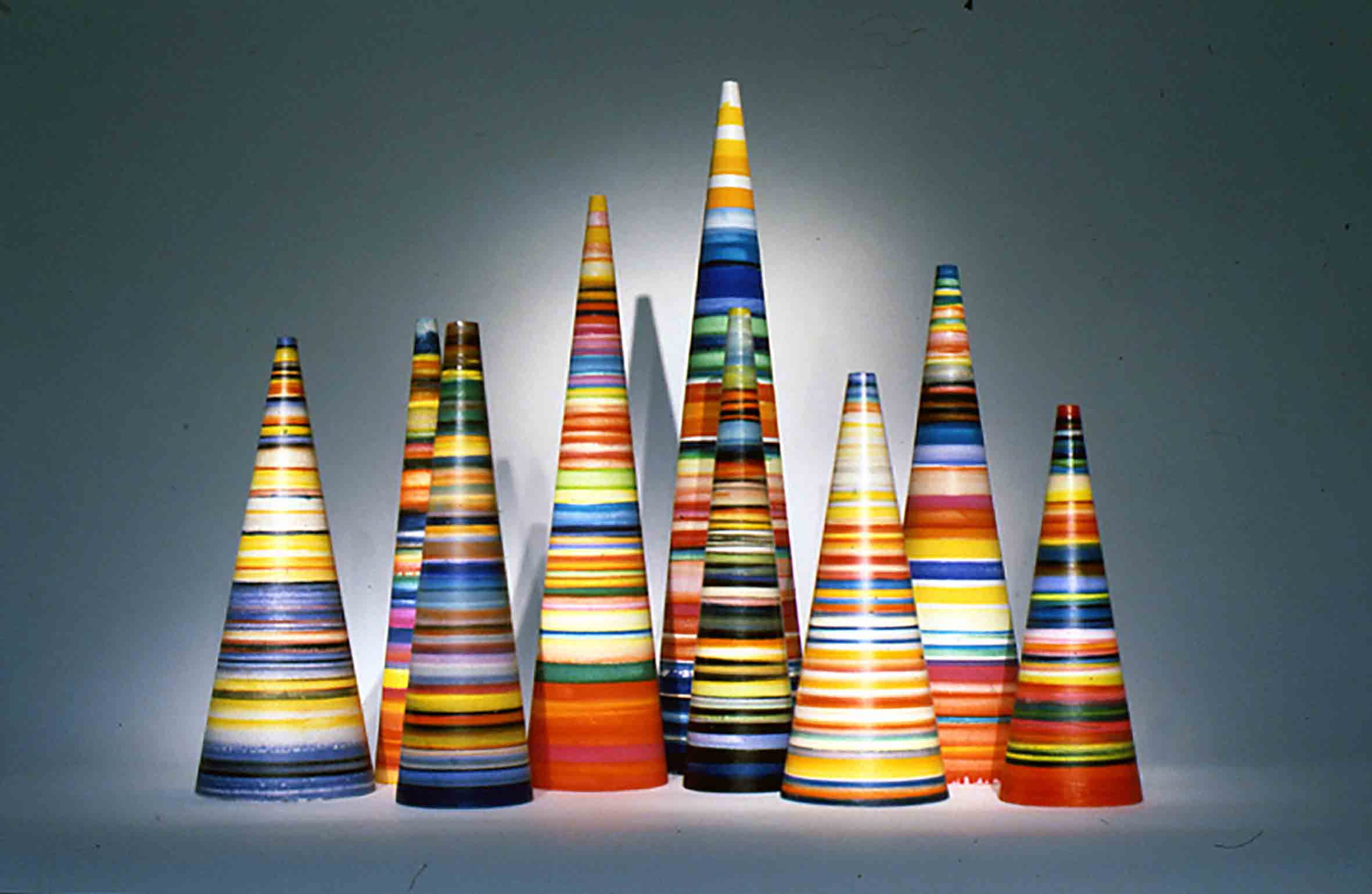 Liliane Lijn, Striped Koans, 1995-7, © the artist
