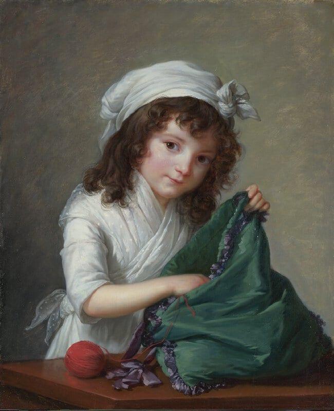 Elisabeth Louise Vigée Le Brun, Mademoiselle Brongniart, 1788
