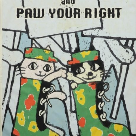 Nobuaki Takekawa, PAW YOUR RIGHT, 2018. Courtesy of Ota Fine Arts